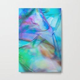 Abstract Symbiosis Metal Print
