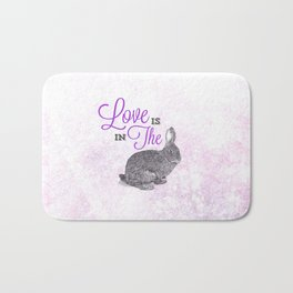 Love is in the hare. Bath Mat