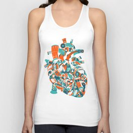 Music in your heart? Unisex Tank Top