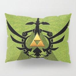 Zelda Link Triforce Pillow Sham