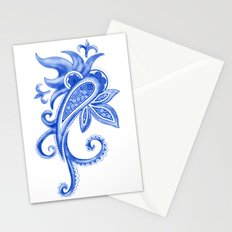 Paisley: Blue China Combo Stationery Cards
