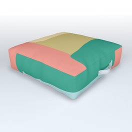 Side Stripes Outdoor Floor Cushion