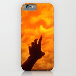 Dare to Reach Higher iPhone Case