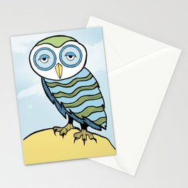 AL the Owl Stationery Cards