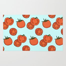Tomato patter Rug
