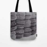 macaroons Tote Bags featuring macaroons by Amit Naftali