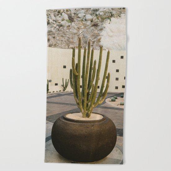 Cabo Cactus VIII Beach Towel