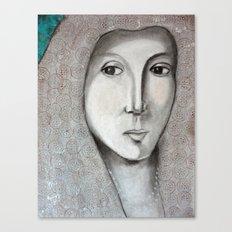 La Bella Donna Canvas Print