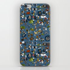 Teeny Tiny Galaxy iPhone & iPod Skin
