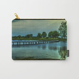 Bridge over a pond  Carry-All Pouch