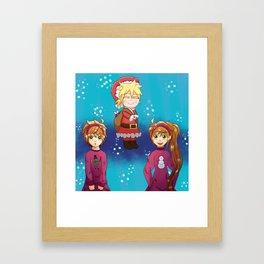 Vocaloid Christmas 2015 Framed Art Print