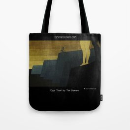 """Cape Town"" Illustration Toni Demuro Tote Bag"