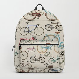 Retro wheels Backpack