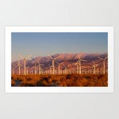 desert winds Art Print