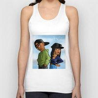 tupac Tank Tops featuring Poetic Justice by Kimbo Henry