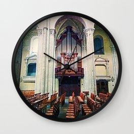 Organ of Cathedral Wall Clock