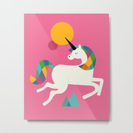 To be a unicorn Metal Print