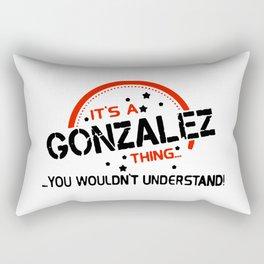 GONZALEZ Rectangular Pillow