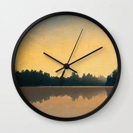 Balsam Lake Provincial Park Wall Clock