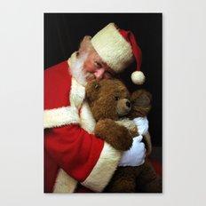 Me And My Teddy Bear Canvas Print
