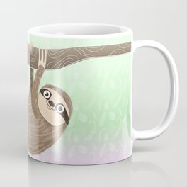 Hello Sloth Coffee Mug