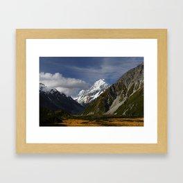 Mt Cook / Aoraki Framed Art Print