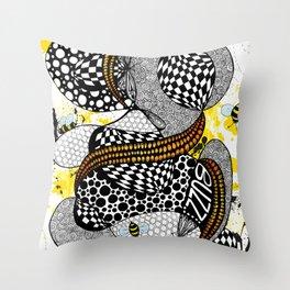 Buzzzz.....  Throw Pillow