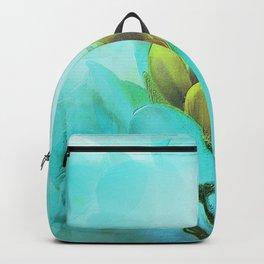 Row Of Crocuses Backpack