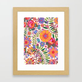 Just Flowers Lite Framed Art Print