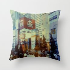 Tokyo Dreaming Throw Pillow