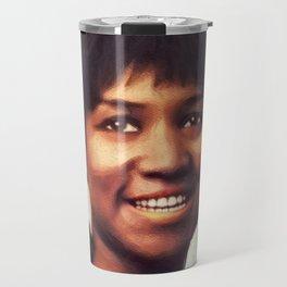 Aretha Franklin, Music Legend Travel Mug