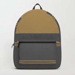 Yellow And Gray Grainsack Backpack