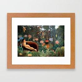 Henri Rousseau - The Dream Framed Art Print