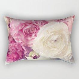 shades of pink Rectangular Pillow
