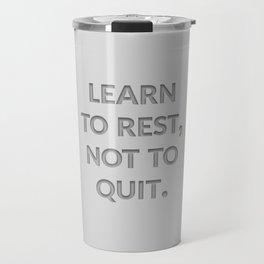 The Secret to Success I Travel Mug