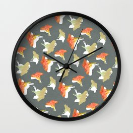Nose Twist Wall Clock