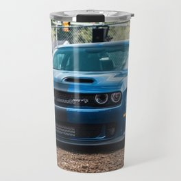 Sea Blue Challenger SRT Redeye Hellcat Demon Widebody Travel Mug