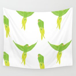 Wild Parrots of East Austin Wall Tapestry