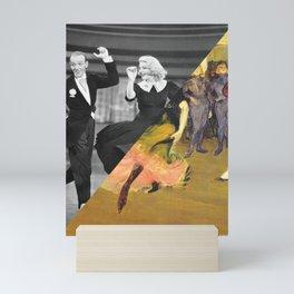 Henri Toulose Lautrec's Dance at Moulin R. & Ginger Rogers Mini Art Print