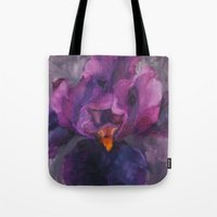 ursula Tote Bags featuring Ursula by Crystal Manning