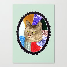 KITTY / TABBY Canvas Print