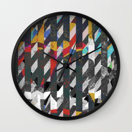 Colorful noise Wall Clock