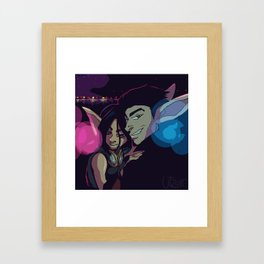 Haven Night Framed Art Print