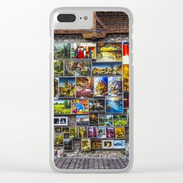 Artwork. Clear iPhone Case