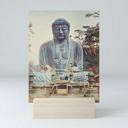 The Bronze Buddha Mini Art Print