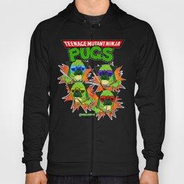 Teenage Mutant Ninja Pugs Hoody