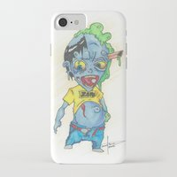 magic the gathering iPhone & iPod Cases featuring Zombie Token - Magic the Gathering by Deadlance