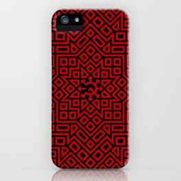 Chaos Communism- Leveled Details iPhone Case