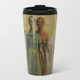 Venus of Rock Island Travel Mug