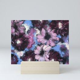 Whatever Floats Your Flowers Mini Art Print